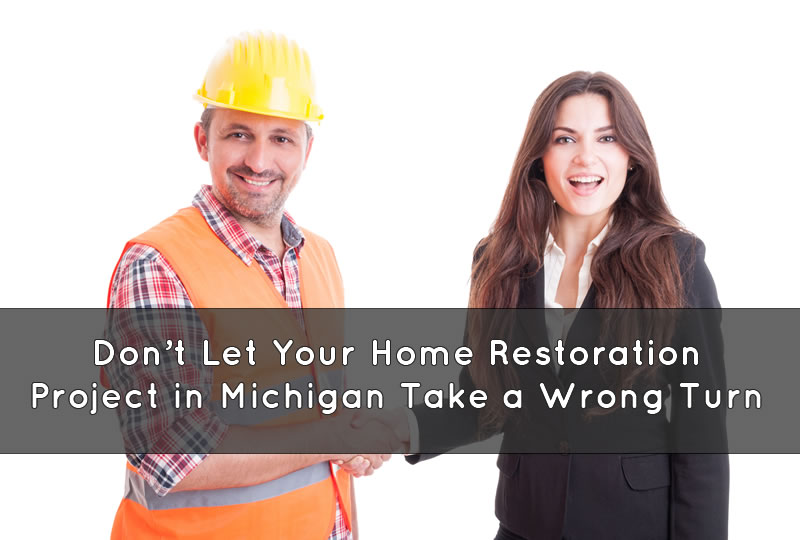 Home Restoration Project in Michigan Tips