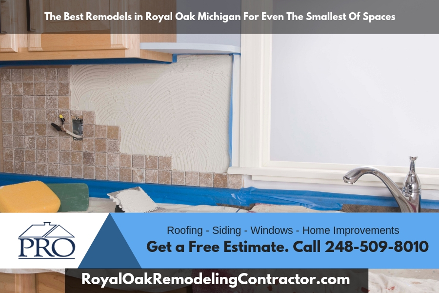 The Best Remodels in Royal Oak Michigan For Even The Smallest Of Spaces
