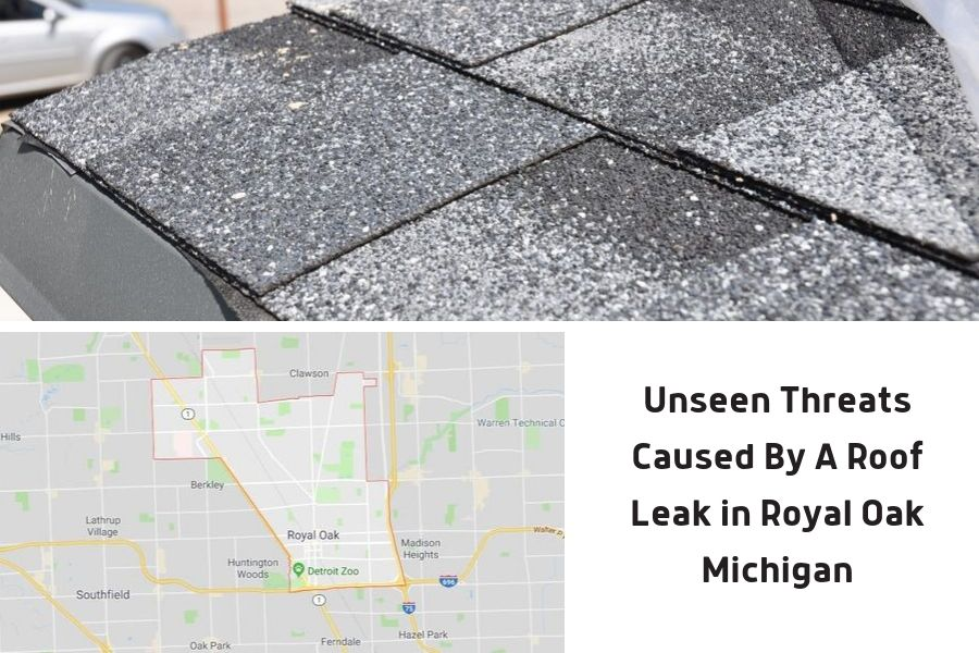 Unseen Threats Caused By A Roof Leak in Royal Oak Michigan