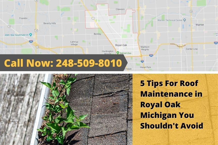 Roofing Inspection Royal Oak MI