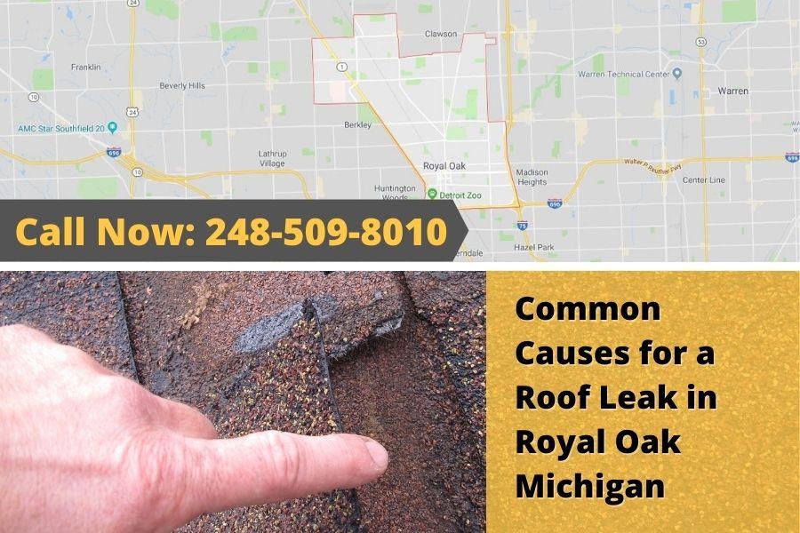 Roofing Leak Royal Oak MI